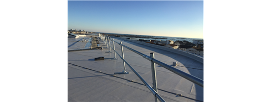 Freestanding Roof Edge Protection Guardrails