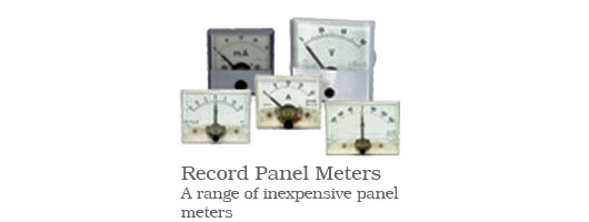 Record Panel Meters