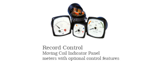 Record Control Panel Meters