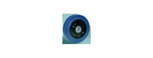 Polymide 6 Core- Vulcanized blue elastic, non marking rubber