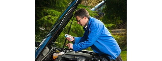 Bellingham & Stanley; OPTI Automotive refractometer testing diesel exhaust fluids and antifreeze