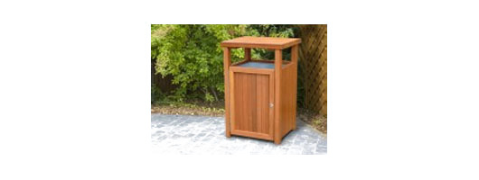 Kara Hardwood Litter Bins