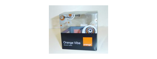 PVC Carton - Orange Vibe Bluetooth