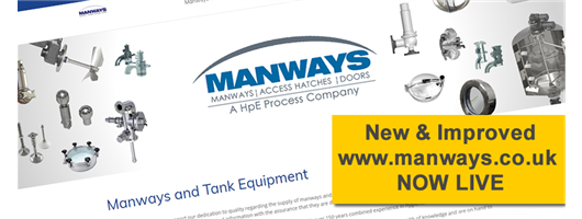 Manways New Website Banner