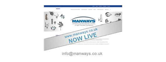 Manways Website is now Live!