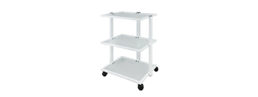 3 Tier, Glass Shelved Trolley