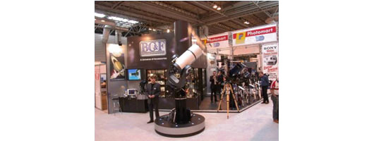Interior exhibition stand for BC&F