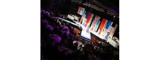 Modular stage set for Miss UK