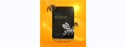 Bio Cellulose Bee Venom & Royal Jelly Miracle Mask