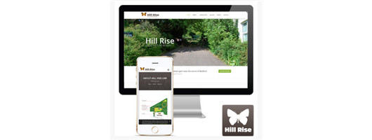 Hill Rise Nature Reserve - Branding Web
