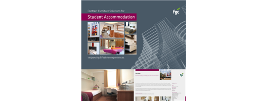 Furniture Group Contracts - Student Accommodation Brochure