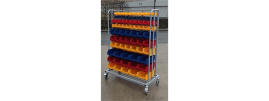 Small Parts Storage & Picking Trolleys