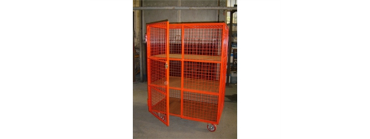 Mesh Enclosed Trolleys