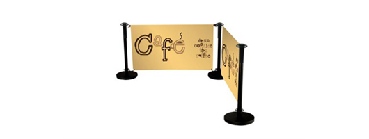 Cafe Barrier Printing