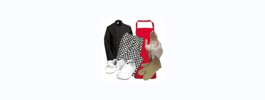 Chefs clothing & footwear