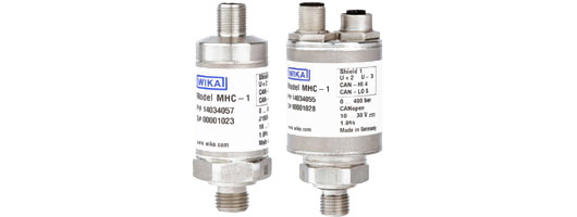 Pressure transmitter for mobile hydraulic applications With output signals CANopen® and J1939 Model MHC-1