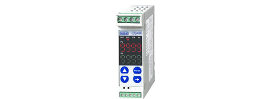Temperature controller for rail mounting, dimensions 22.5 x 75 mm  PID Controller  Model CS4R