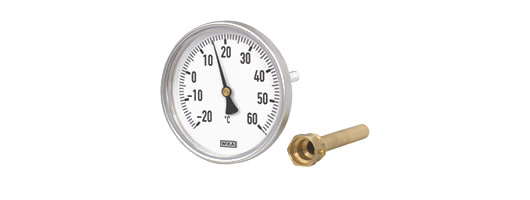 Bimetal thermometer for heating  Model 46