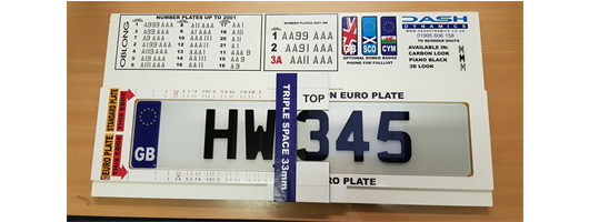 4D Number Plates 2