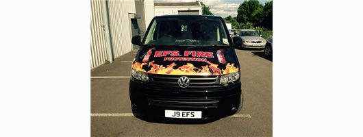 EFSFire Protection Front of Van