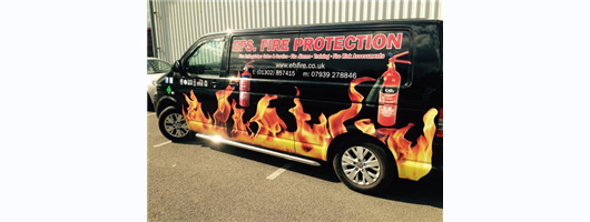 EFSFire Protection Side of Van