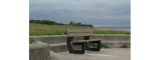 Grain Coastal Park Kent Outdoor bench