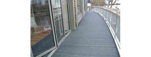 Thames Rowing club decking