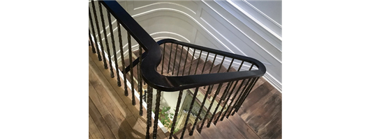 Reeded Cast Iron Balustrade