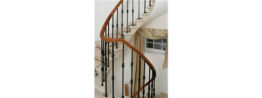 Metal Balustrade for Cantilevered Stone