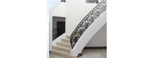 Curved Staircase Balustrades