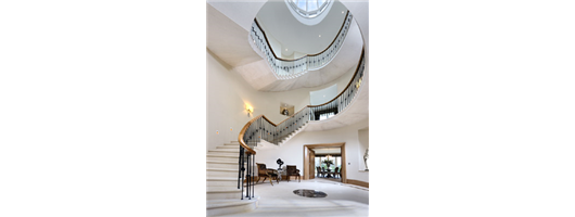 Sepentine Staircase Balustrade