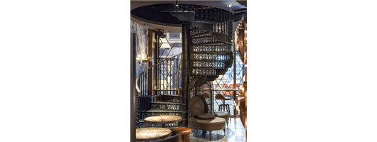 The Duck & Rice Bespoke Spiral Staircase