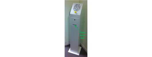 1100 Wired Digital Medical Queuing System