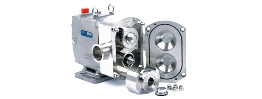 JEC Acculab hygienic rotary lobe pumps