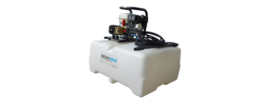 240 Litre Interpump Tank Mounted Pressure Washer Bowser Unit