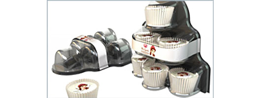 Cupcake Plastic Packaging