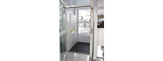 Vertical Platform Lift for Clarks Shoe Shop