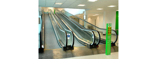 Escalator for Asda Store, Andover