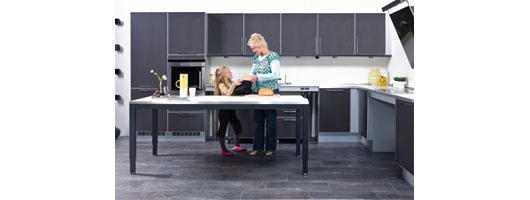 Height Adjustable Kitchen Furniture from Ropox