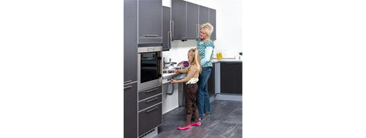 Height Adjustable Kitchen Worktop from Ropox