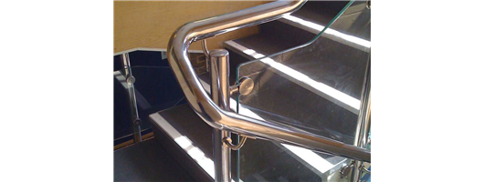 Stronghold - Stainless Steel Handrails