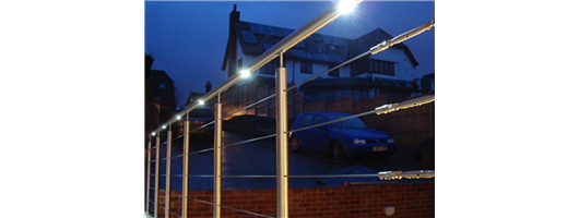Illumine - LED Handrail Systems