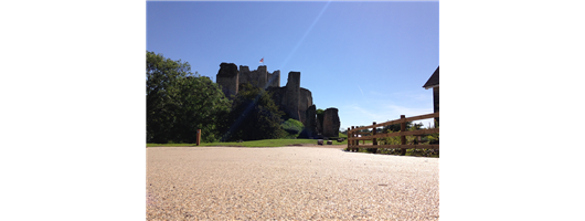 Conisbrough Castle Resin Bound Surfacing