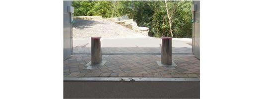 iBollard Hydraulic Rising Bollards from Frontier Pitts