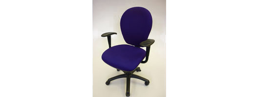 High Back Task Chair with Arms