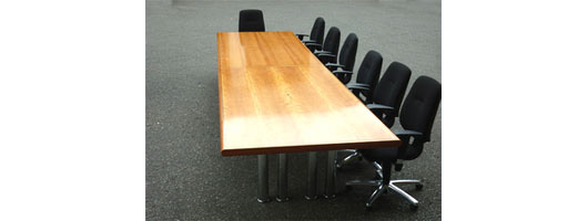 Birch / Cherry Boardroom Table