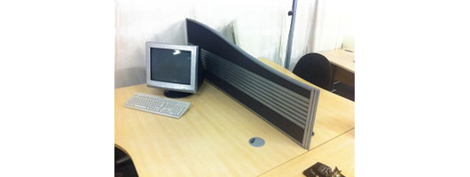 Desk Mounted Screens