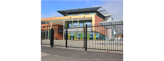 Vertical Bar Security Fencing