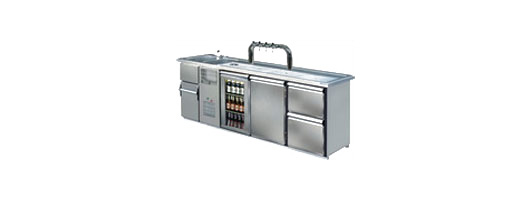 Bar counter systems