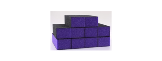 The EDGE Purple Sanding Blocks